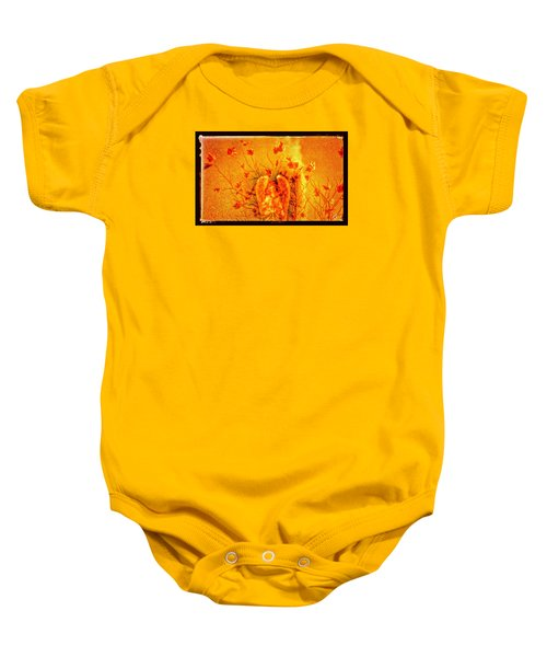 Autumn Angel Baby Onesie