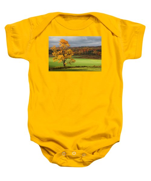 Autumn Colors Baby Onesie