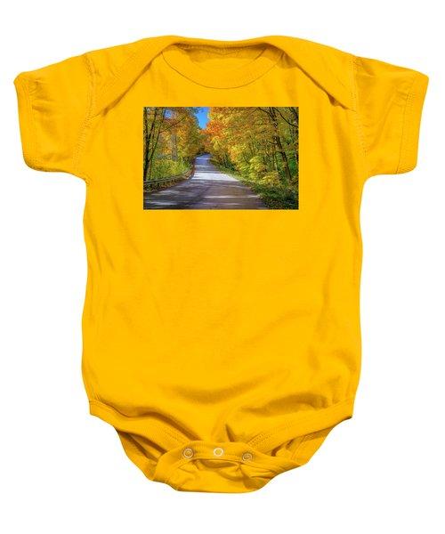 Autumn Drive  Baby Onesie