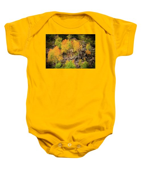 Autumn In The Uinta Mountains Baby Onesie