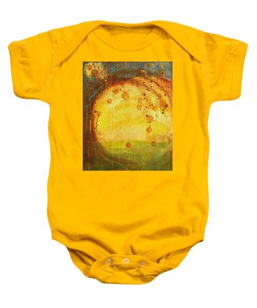 Autumn Leaves - Tree Series Baby Onesie