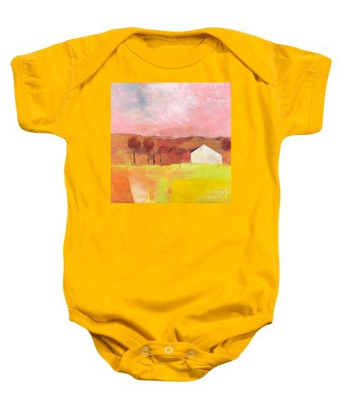 Autumn Stillness Baby Onesie