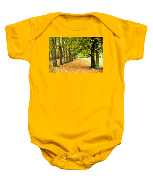 Autumn Walk Baby Onesie