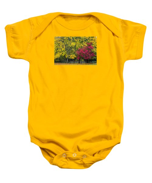 Autumn's Peak Baby Onesie