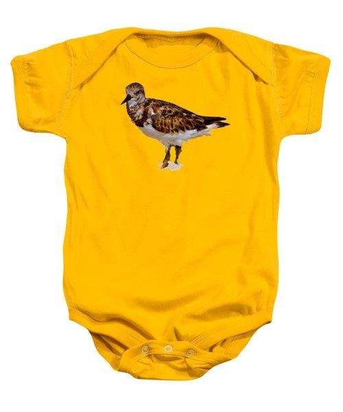 B Bird Baby Onesie