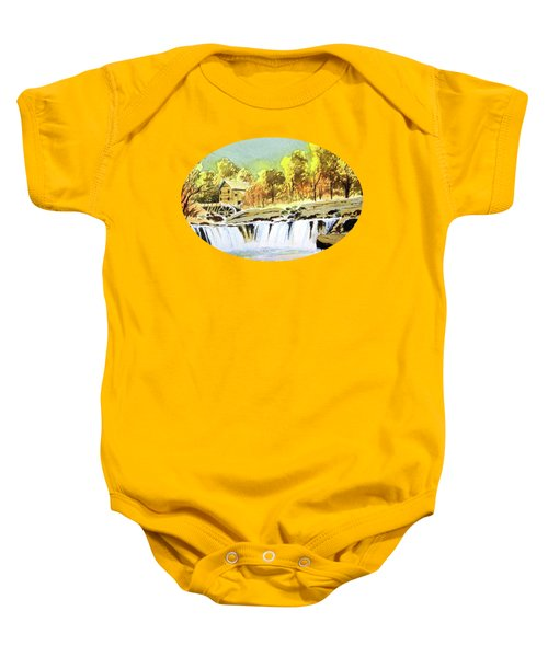 Babcock State Park West Virginia Baby Onesie