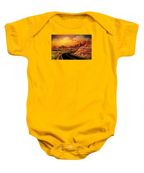 Badlands - South Dakota Baby Onesie