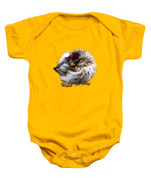Ball Of Feathers Baby Onesie