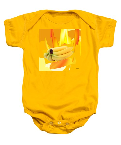 Banana Boat Baby Onesie by Jacquie King