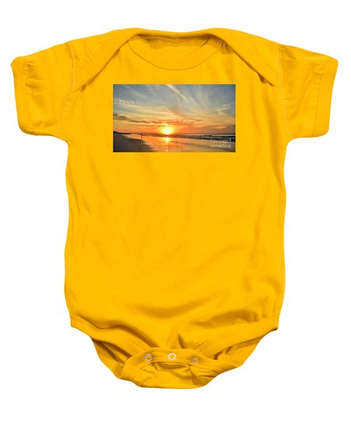 Beach Of Gold Baby Onesie
