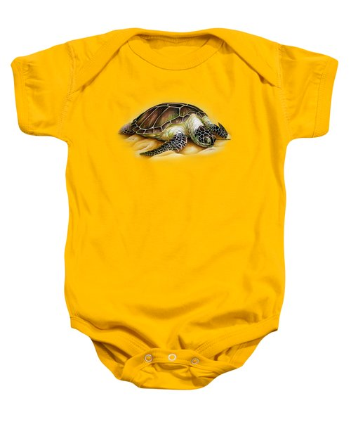 Beached For Promo Items Baby Onesie by William Love