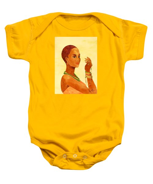 Beauty Stance Baby Onesie