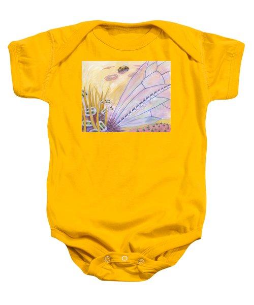 Bee's Wings Baby Onesie