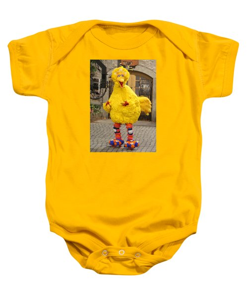 Big Bird Baby Onesie