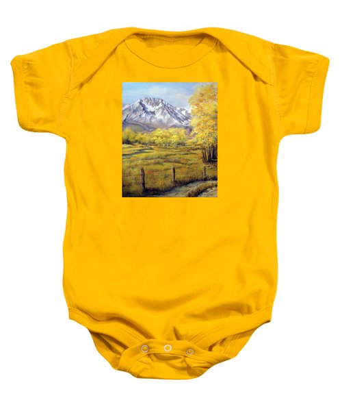 Bishop In The Fall Baby Onesie