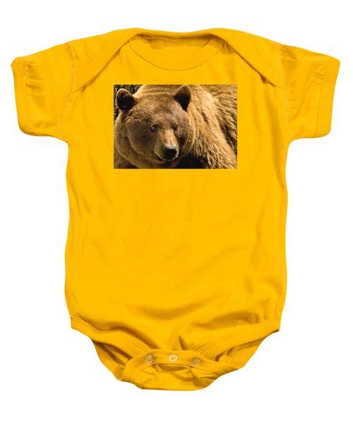 Black Bear Baby Onesie