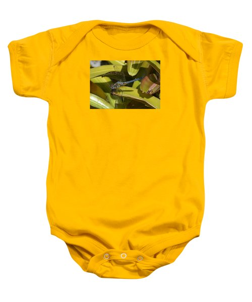 Blue Dasher 2 Baby Onesie