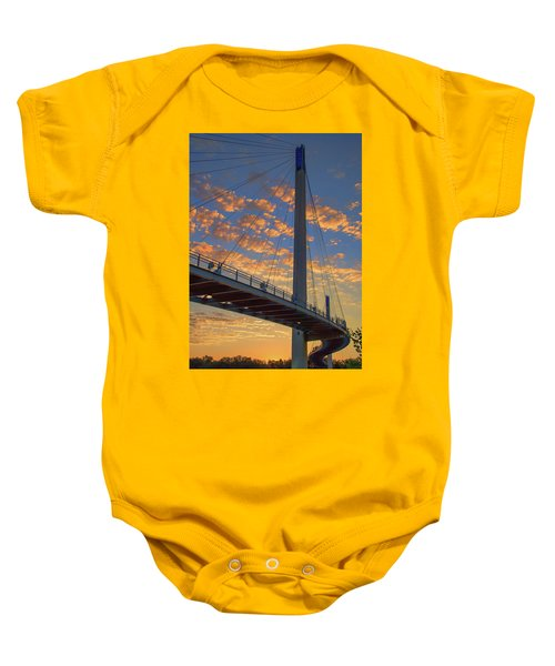 Bob Kerry Bridge At Sunrise Baby Onesie