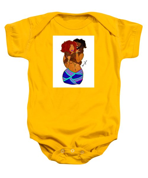 Boo Thang Baby Onesie by Diamin Nicole
