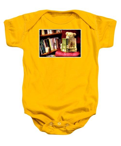 Bookworm Ted Baby Onesie