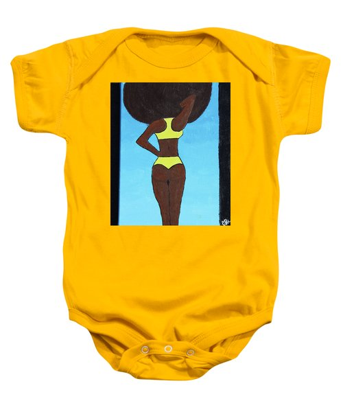 Bootylicious Baby Onesie by Cyrionna The Cyerial Artist