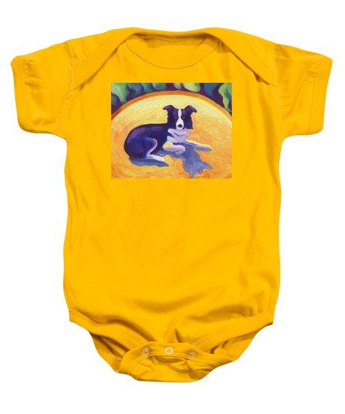Border Collie Baby Onesie