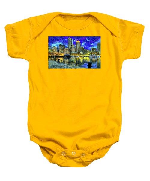 Boston 1 Baby Onesie