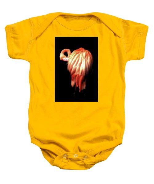 Bowie Flamingo Baby Onesie