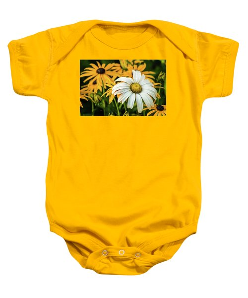 Baby Onesie featuring the photograph Bride And Bridesmaids by Bill Pevlor