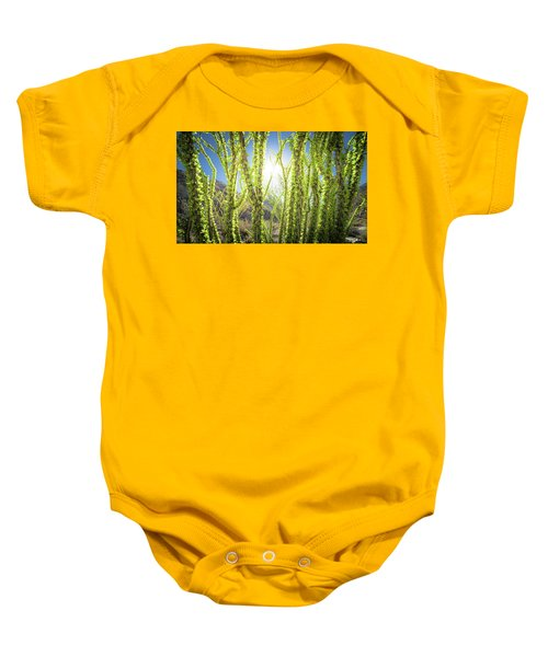 Bright Light In The Desert Baby Onesie