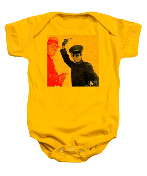 Bruce Lee Kato And The Green Hornet - Square Baby Onesie