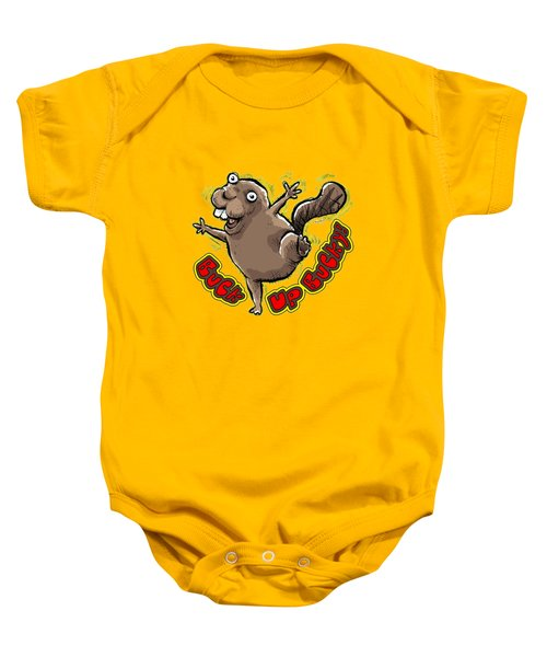 Buck Up Bucky Baby Onesie by Chas Sinklier