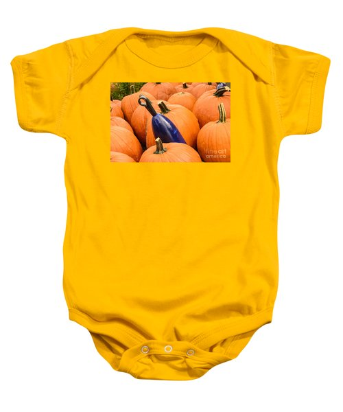Buoy And Pumpkins Baby Onesie