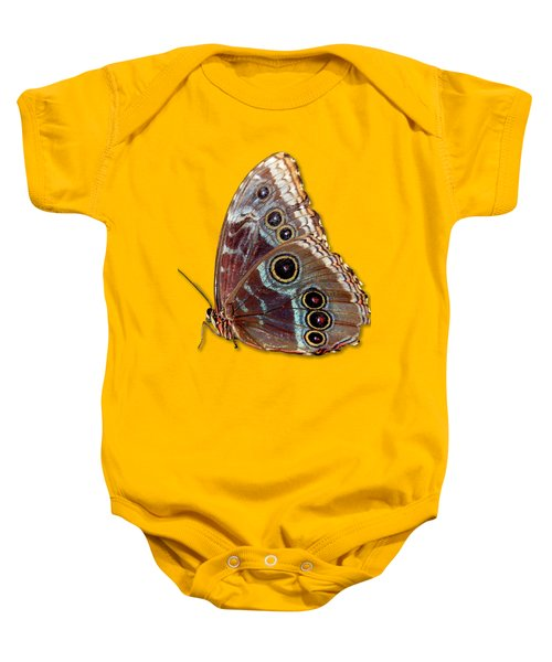 Butterfly Macro Baby Onesie