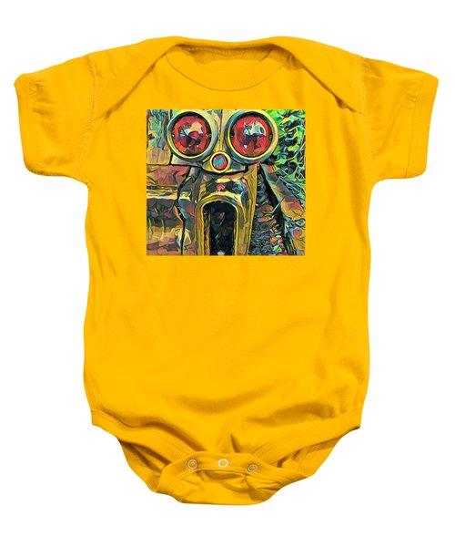 Cadillacasauraus Baby Onesie