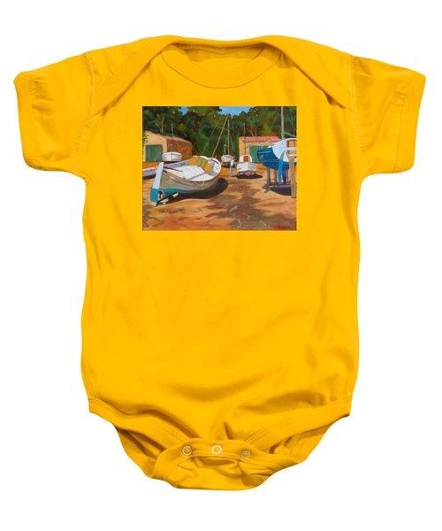 Cala Figuera Boatyard - I Baby Onesie