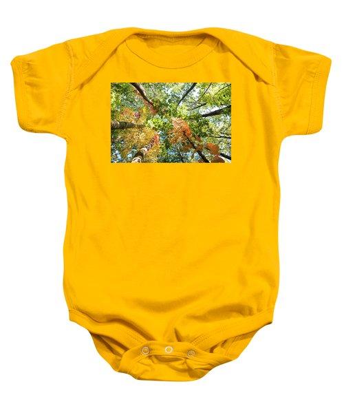 Canadian Foliage Baby Onesie