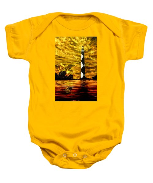 Candle On The Water Baby Onesie