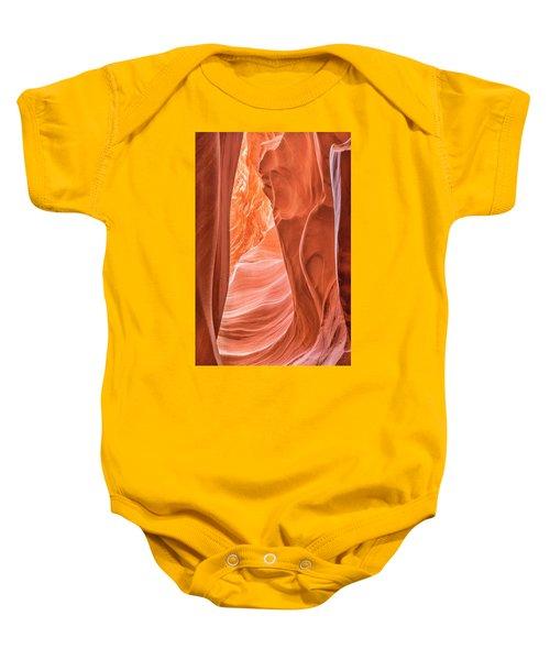 Canyon Textures Baby Onesie