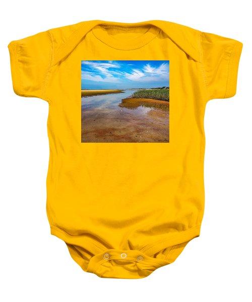 Cape Perspective Baby Onesie