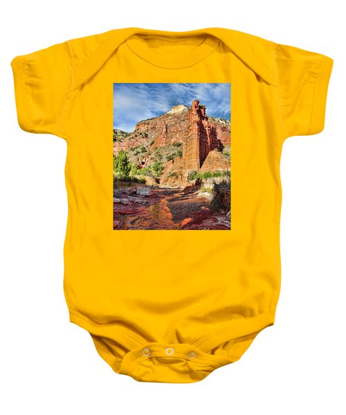 Caprock Canyon Cliff Baby Onesie