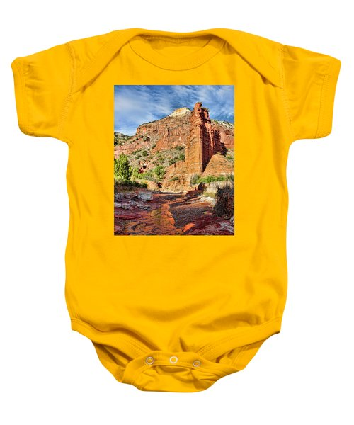 Caprock Canyon Cliff Baby Onesie