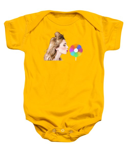 Carbon Neutral Wind Energy. Motion Of Mankind Baby Onesie
