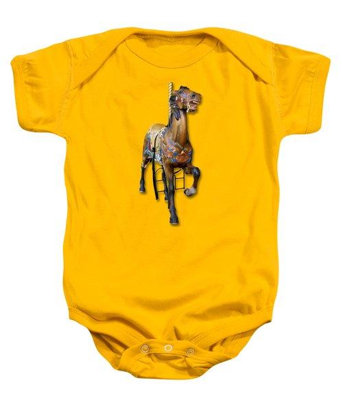 Carousel Horse Baby Onesie