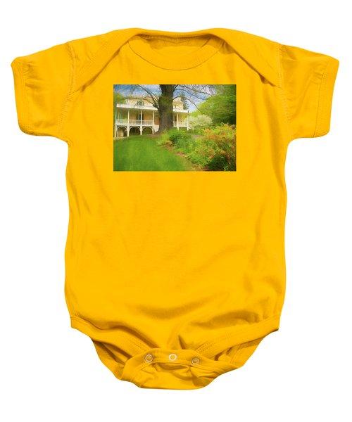 Cedar Grove In Spring Baby Onesie