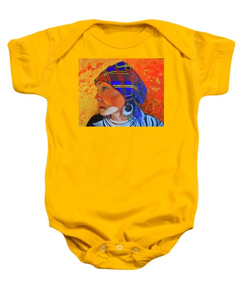 Chaos And Order Baby Onesie