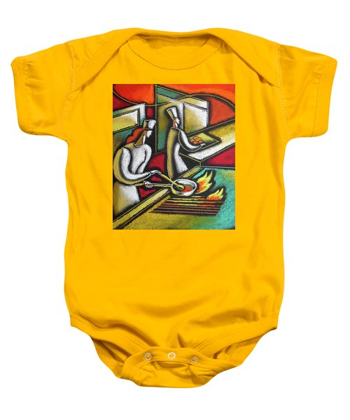 Chef And Cooking Food Baby Onesie