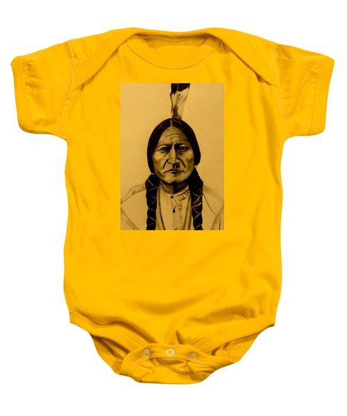 Chief Sitting Bull  Tatanka Iyotake Baby Onesie