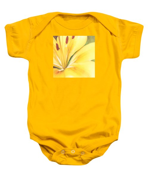 Citrine Blossom Baby Onesie