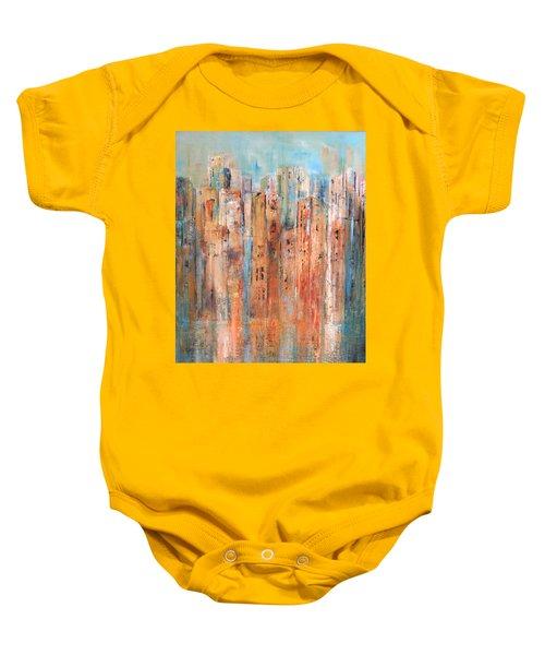 Cityscape #3 Baby Onesie
